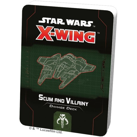 Star Wars: X-Wing (Second Edition) - Scum and Villainy Damage Deck