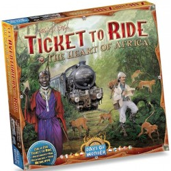 Ticket to Ride: The Heart of Africa (Map Collection 3)