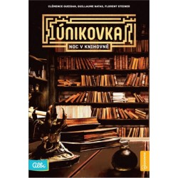 Kniha Únikovka:  Noc v knihovně
