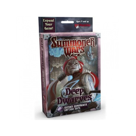 Summoner Wars: Deep Dwarves Second Summoner Deck