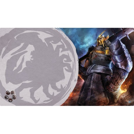 The Legend of the Five Rings: The Card Game - Defender of the Wall Playmat