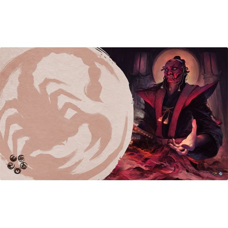 The Legend of the Five Rings: The Card Game - Master of Secrets Playmat
