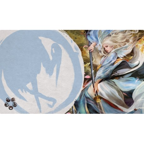 The Legend of the Five Rings: The Card Game - Left Hand of the Emperor Playmat