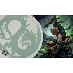 The Legend of the Five Rings: The Card Game - Master of the High House of Light Playmat