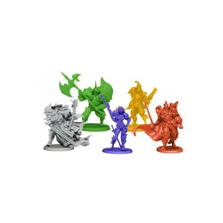 Rum and Bones Second Tide - The Iron Inquisition Heroes Set 1