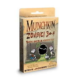 Munchkin Zombíci 3+4: Skryté skrýše & Náhradní díly