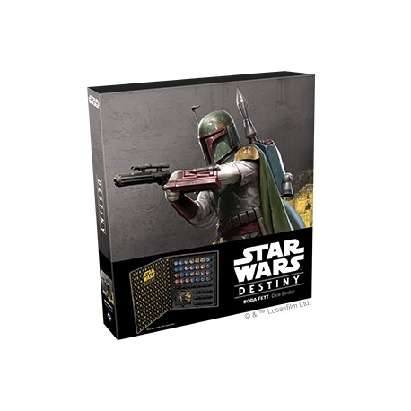 Star Wars Destiny: Boba Fett Dice Binder