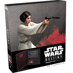 Star Wars Destiny: Princess Leia Dice Binder