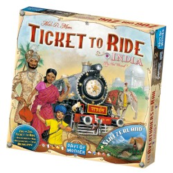 Ticket to Ride: India & Switzerland (Map Collection 2)