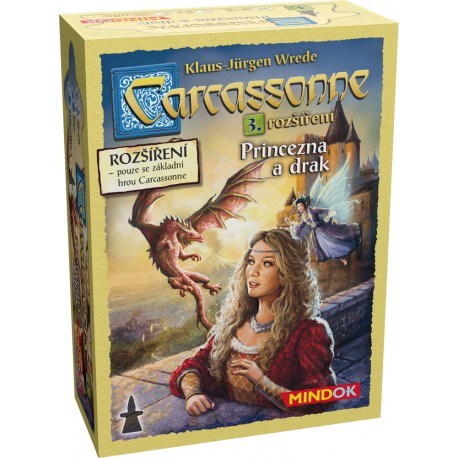 Carcassonne rozšíření 3: Princezna a drak