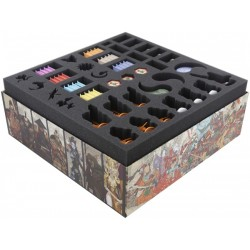 Sada pěnových pořadačů Feldherr pro rozšíření Rising Sun: Daimyo Box