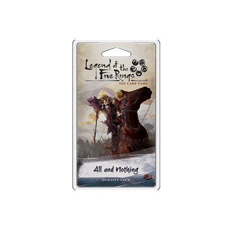 The Legend of the Five Rings: The Card Game - All and Nothing
