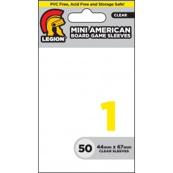 Obaly na karty - Board Game Sleeve 1 - Mini American