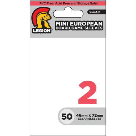 Obaly na karty - Board Game Sleeve 2 - Mini European