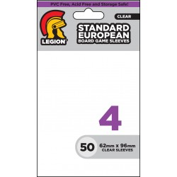 Obaly na karty - Board Game Sleeve 4 - Standard European