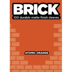 Obaly na karty - Sleeve - Brick - Atomic Orange