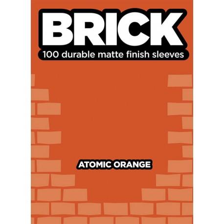 Obaly na karty - Sleeve - Brick - Atomic Orange