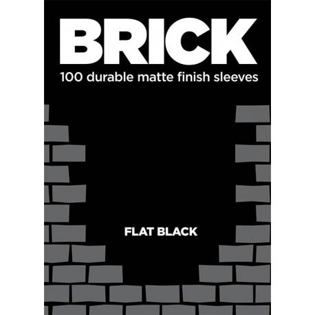 Obaly na karty - Sleeve - Brick - Flat Black