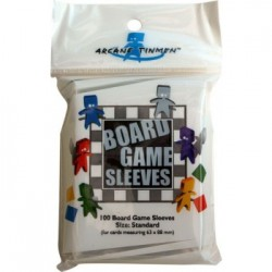 Board Games Sleeves - Standard Size (63x88mm) - 100 Pcs