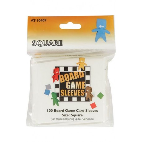 Board Games Sleeves - Oversized (69x69mm) - 100 Pcs