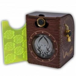 Dřevěná krabička na karty - Cthulhu