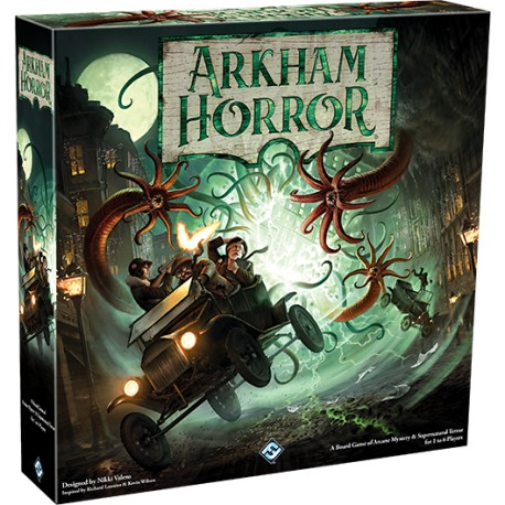Arkham Horror Third Edition + Deluxe Rulebook