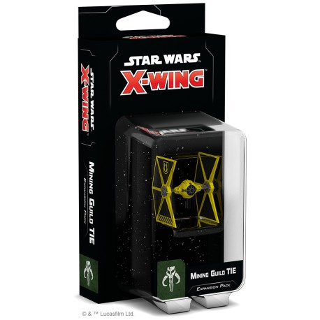 Star Wars: X-Wing (Second Edition) - Mining Guild TIE Expansion Pack