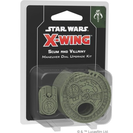 Star Wars: X-Wing (Second Edition) - Scum and Villainy Maneuver Dial Upgrade Kit