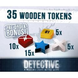 Detektiv: Po stopách zločinu - Dřevěné žetony