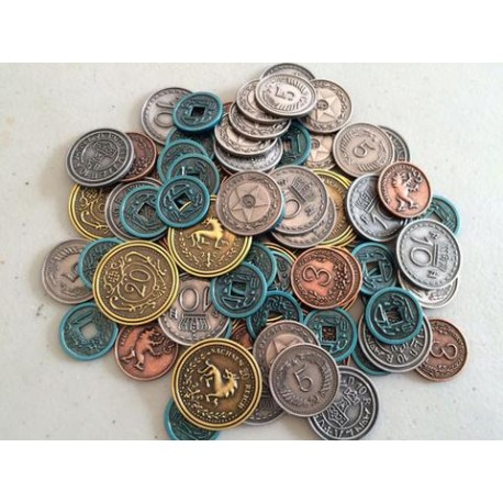 Scythe Metal Coins