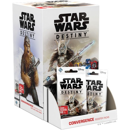 Star Wars: Destiny Convergence Booster Pack Display (36 bal.)