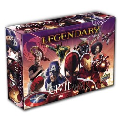 Legendary: A Marvel Deck Building Game - Civil War
