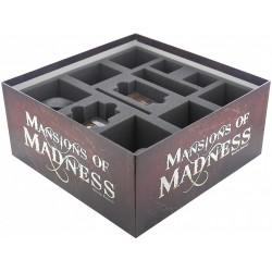 Sada pěnových pořadačů Feldherr pro hru Panství hrůzy (Mansions of Madness - 2nd Edition)