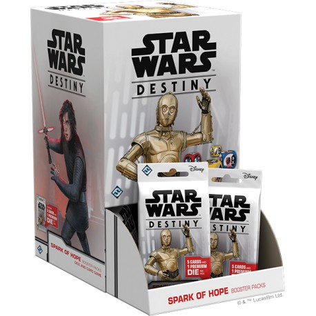 Star Wars: Destiny Spark of Hope Booster Pack Display (36 bal.)