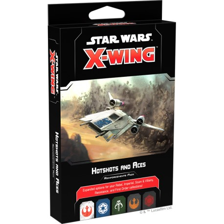 Star Wars: X-Wing (Second Edition) - Hotshots and Aces Reinforcements Pack