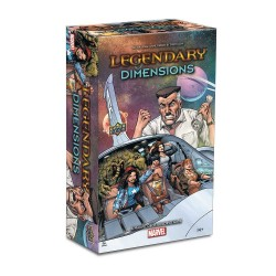 Legendary: A Marvel Deck Building Game - Dimensions